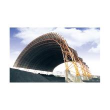 Hangar à charbon préfabriqué