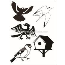 Милый животных дизайн четких марки для бумагоделательной записки