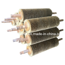 Brass Coated Steel Wire Roller Brush (YY-187)
