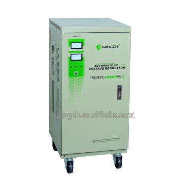 Tind / SVC-30k Monophasé Régulateur de tension CA entièrement automatique