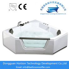 Fast Delivery for Sector massage Bathtub Multifunctional soaking corner tub shower combo supply to Spain Exporter