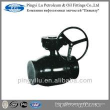 Russia standard welding hot water ball valve