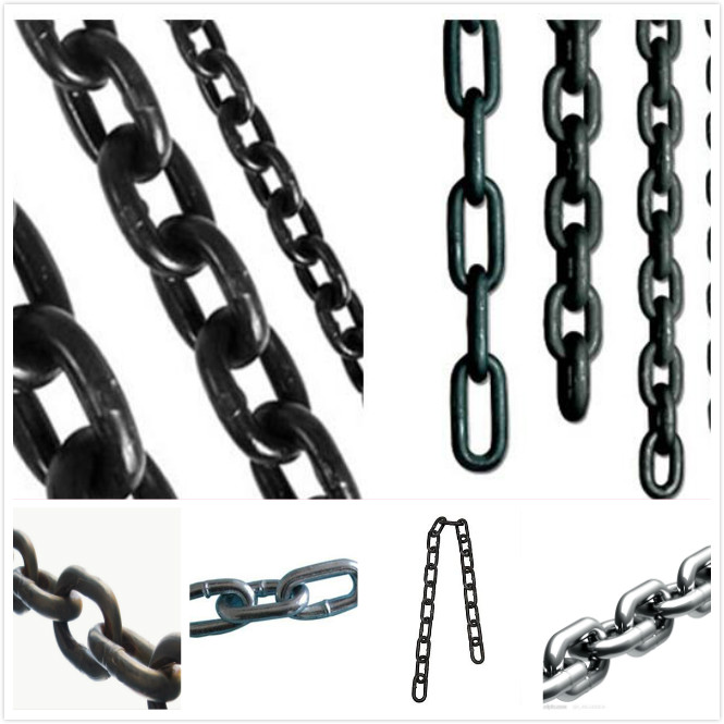 High Strength Minning Round -Link Chains