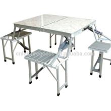 Set de table de pique-nique en plastique pliante extérieure Set de table de pique-nique en plastique pliante extérieure Set de table de pique-nique en plastique pliante extérieure