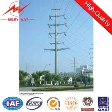 50FT 55FT 60FT Electric Utility Poles for Philippines