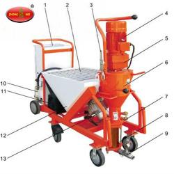 N5 Putty Mortar Wall Spraying Machine
