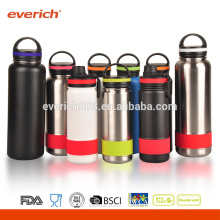 BPA Free Double Wall Vacuum Sealed Wide Mouth Stainless Steel Water Bottle