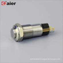 10mm High Button Metal Push Button Switch