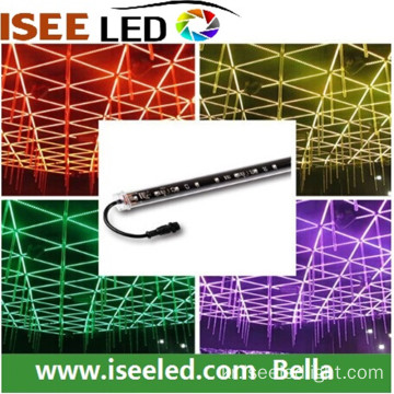 DMX led rgb 1m 3d 수직 튜브 DC15V