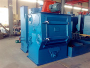 Q3210 Rubber Belt Track Shot Blasting Equipment