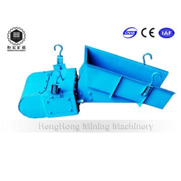 Alimentador móvil electromagnético para productos químicos de carbón con máquina trituradora