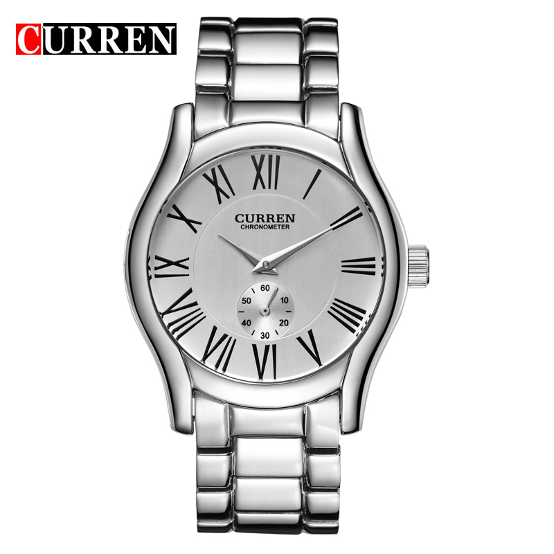 Sport Stainless Steel Men Business Quartz Watches