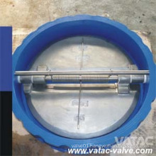 Cast Steel/C. I/D. I Dual Plate Type Butterfly Check Valve China