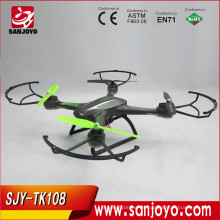 2016 venta caliente juguetes y aficiones SJY-TK108W rc drone profesional con wifi FPV