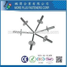 Hergestellt in Taiwan Edelstahl Kupfer Messing Strukturelle Stahl Monobolt Niet