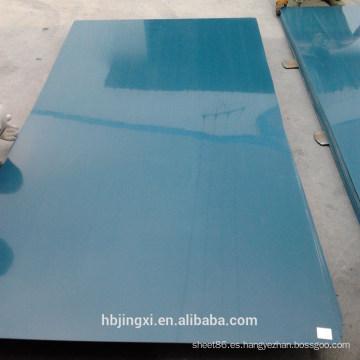 Hoja transparente de PVC rígido para la construcción