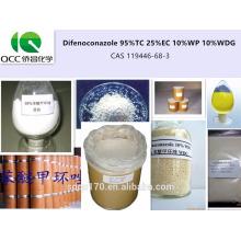 Alta qualidade Agroquímica / Fungicida Difenoconazol 95% TC 25% EC 10% WP 10% WDG CAS 119446-68-3