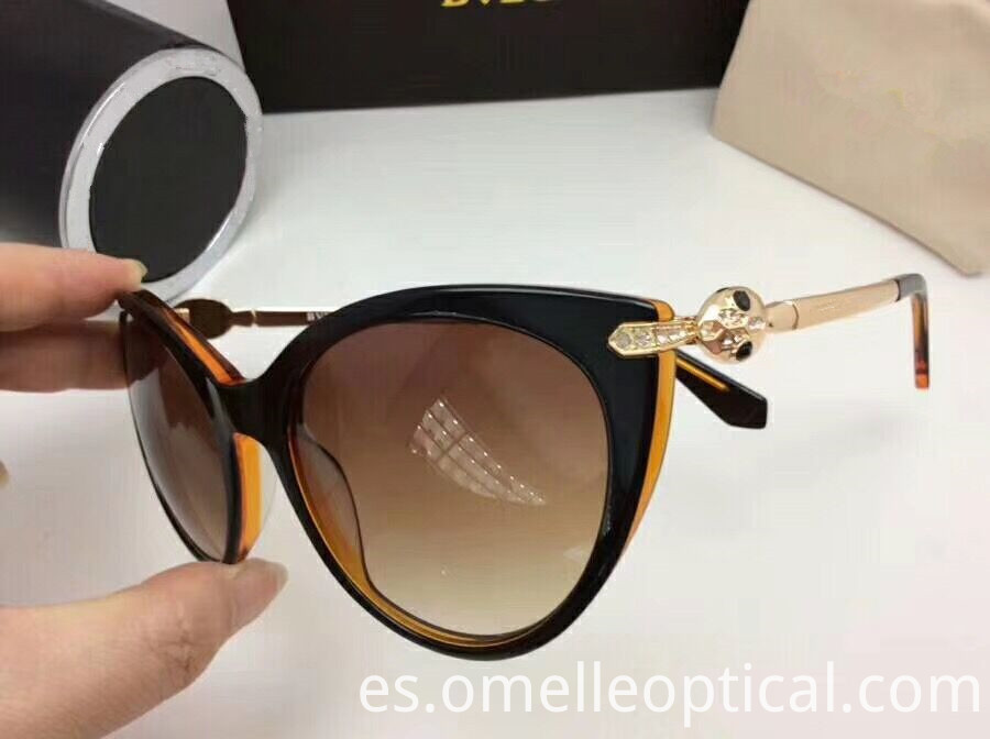 Large Cat Eye Sunglasses