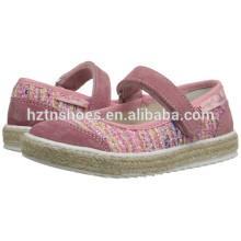 Chaussures en usine Espadrilles en gros Chaussures à espadrilles pas cher pour les filles