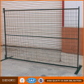 Clôture portative extérieure de clôture temporaire bon marché