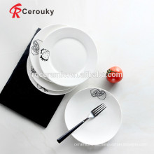 Restaurant Keramikplatten Gerichte billige Keramikplatten Geschirr