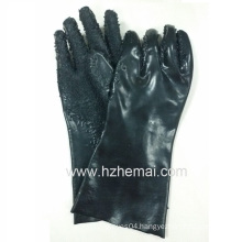 PVC Fishing Gloves PVC Potato Peeling Gloves Safety Work Glove