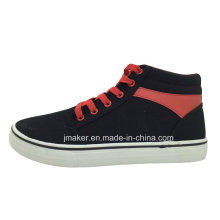 Zapatillas de deporte del deporte del patín de los altos tobillos (J2327-M)