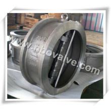 """Válvula de retenção de aço forjado Wafer (H64H-12 """")"""