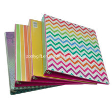 Cheap Wholesale Printing PVC A4 3-Ring Binder File Folders