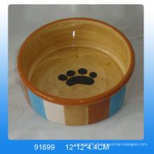 Alimentador de cão de cerâmica de alta qualidade