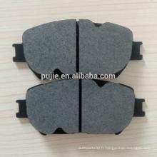 Pièces de rechange auto plaques de freins à disques arrière sans asbestos