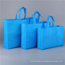 Bolsos de compras plegables ecológicos no tejidos