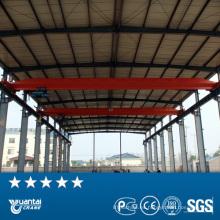 Alta calidad eléctrica impulsada por 10 ton sola viga puente grúa