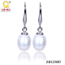 Boucles d'oreilles perles d'eau douce