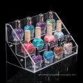 Wholesale Selling Nail Polish Holder Clear Cosmetic Display Stand