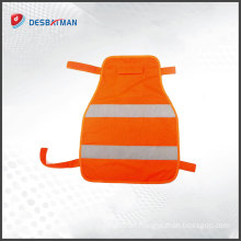 Customized high quality fashionable comfort soft breathable dog reflective material safety vest