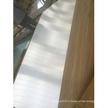 Feuilles d'aluminium acidifiées pour enseignes