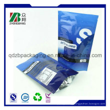 Laminated Zipper Stand-up Pouch with Window Poly Bag (ZB121)