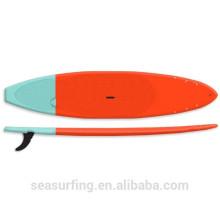 2016 nouvelle année OEM conception planche de surf large planche de paddler vierge