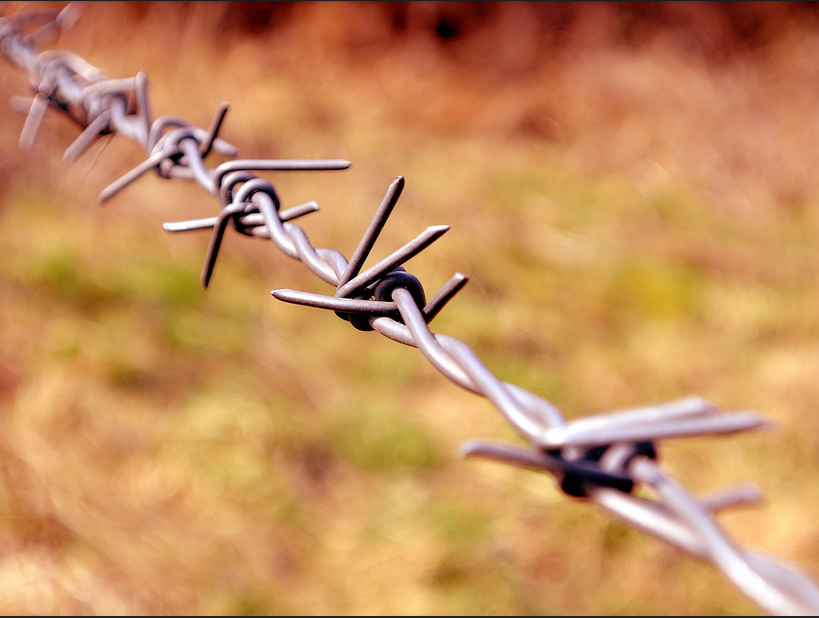 roll barbed wire