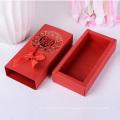 Caixa de papel de casamento premium com design personalizado