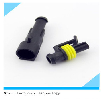 Factory Price of 1 Way Pin Male Female Automotive Car Connector Wire Harness