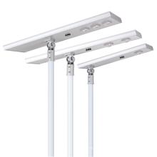 modèle privé 30w/60w/90w/120w lampadaire solaire intégré