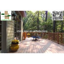 CE certificate garden wpc terrace flooring wholesale price