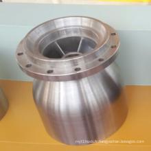 Coulée en acier de bâti en métal