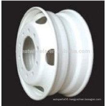 Steel Truck wheel rim 22.5x8.25,22.5x9.00,24.5x8.25, Bus steel wheel