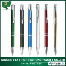 Günstigstes Metall Stock Pens für Promotion verwenden