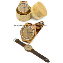 Classic Bamboo Wooden Watch Men Women Wristwatches 2017 Hot Sale