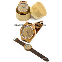 Clássico De Bambu De Madeira Relógio Das Mulheres Dos Homens Relógios De Pulso 2017 Venda Quente