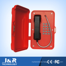 Vandal Resistant Telephone, Heavy Duty Telephone Outdoor VoIP Telephone Jr101-Fk